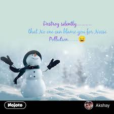 Winter Quotes In Hindi Destroy Silently That No One Can