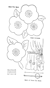Free Embroidery Transfer Patterns – Vintage Flowers & roses embroidery transfer Adamdwight.com