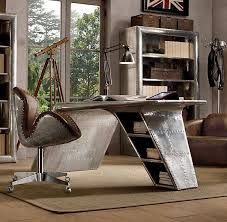 aviator wing desk from restoration hardware though not derived from a real aircraft