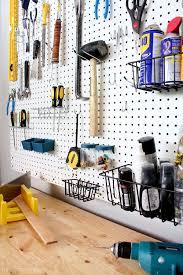 pegboard ideas for garages - Pegboard Organization Garage Ideas A Interior  Design