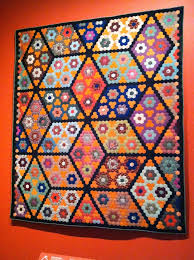 934 best Hexagons and English Paper Pieced Quilts images on ... & Field of Diamonds, United States, about From Quilts and Color - The  Pilgrim/Roy Collection Adamdwight.com