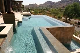 infinity pool edge. HydroScapes Geometric Infinity Pool Vanishing Edge