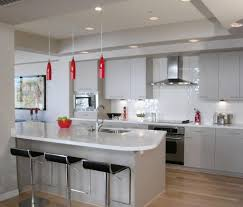 White Kitchen With Red Accents Dark Red Kitchen Island 10091520170520 Ponyiexnet