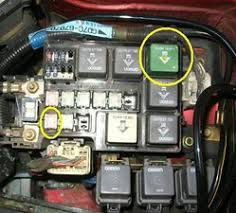 solved where is the fuel pump relay 1998 2002 mazda 626 ifixit block image