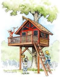 Kids Treehouse Plans B4UBUILD