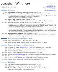 Data Scientist Resume Impressive Data Science Resume Beni Algebra Inc Co Resume Samples Downloadable