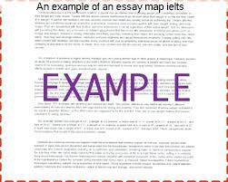 Map Essay Examples Ielts An Example Of Research Paper Help Yomm