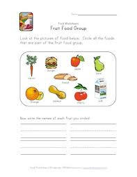 Small Picture 34 best food lessons images on Pinterest Worksheets Food groups