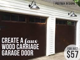57 garage door makeover 2