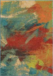 orian rugs bright color abstract impressions multi area rug 7 10 x 10 10
