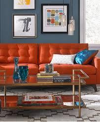 Best 25 Orange sofa ideas on Pinterest
