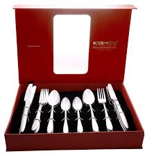 Kishco Cutlery Designs Kishco Classic Stainless Steel Cutlery Set In Gift Box