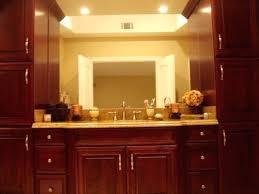 bathroom vanity and linen cabinet. Amazing Bathroom Vanity Tower Or And Linen Cabinets Traditional 29 Cabinet
