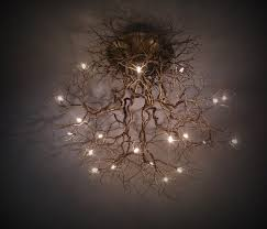 whimsical lighting fixtures. this illuminated ceiling lamp is inspired by natural tree roots furniture trendhuntercom whimsical lighting fixtures