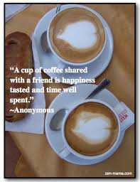 Quotes About Coffee And Friendship Extraordinary Venice CoffeeFriend Quote The Zen Mama's BlogThe Zen Mama's Blog