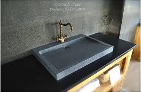 stone bathroom sink