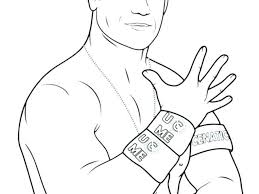 Wwe John Cena Coloring Pages John Coloring Pages Coloring Pages John