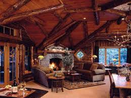 Interior Design Log Homes Cool Design