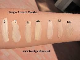 review maestro fusion pact the giorgio giorgio armani maestro fusion makeup all shades swatched