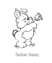 Bunny Coloring Pages For Kids Family Guide To Related Posts Holiday