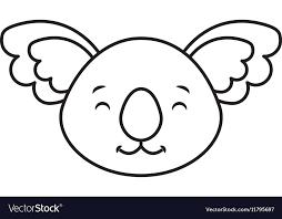 Animal Icon Cute Cohala Animal Icon