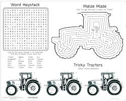 Free John Tractor Coloring Pages Book For Kids Printable Pin Drawn