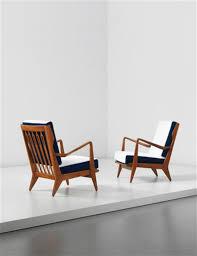 gio ponti armchairs model no 516 pair ca 1955