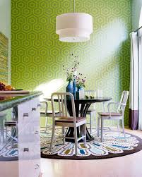 modern dining room rugs. Who Says Dining Room Rugs Need To Be Plain And Boring! [Design: Kyle Modern S
