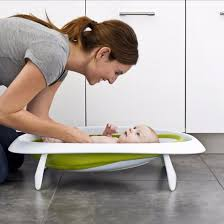 boon 2 position collapsible baby bathtub