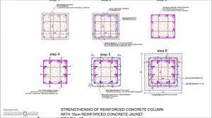 Rcc Column Design Ppt Reinforced Concrete Column Jacketing Detail