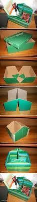 Decorated Shoe Box Ideas Shoe box organizer shoe boxes Pinterest Shoe box organizer 57