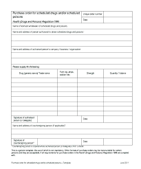 Sample Purchase Order Form Simple Template Local Basic Business ...