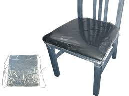 clear plastic seat covers for dining room chairs velcromag dining