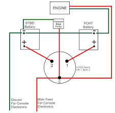 battery switch electronics robalo boating forum how to wire a rule bilge pump with float switch at Boat Bilge Pump Wiring Diagram