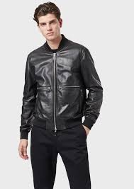 er jacket in vegetable tanned lambskin nappa leather