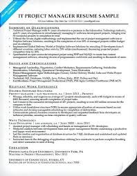 Project Management Resume New Good Project Manager Resume Examples ...