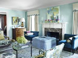 Two Color Living Room Great Combination Ideas For Interior House Paint Colors Living