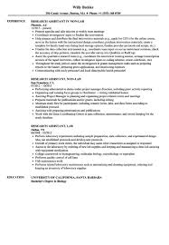 Biology Research Assistant Resume Elegant Resumes Research Assistant