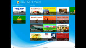 Flyer Creator Software Download Templates From The Marketplace In Easy Flyers Creator