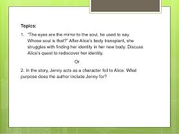 "mirror image analysis essay tutorial ""mirror image"" writing the analysis essay 2"