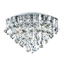 nerisa 4 light chrome semi flush mount crystal chandelier medium size of pendant lights noteworthy semi