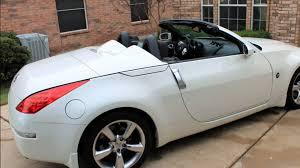 nissan 350z convertible white. Simple Convertible 2008 350Z Roadster Intended Nissan 350z Convertible White H