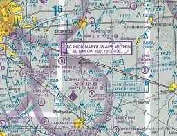 Sectional Chart Search On A Chart How Can I Find The Frequency For Flight