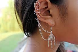 Dream Catcher Helix Earring Dreamcatcher Earrings Shop for Dreamcatcher Earrings on Wheretoget 57