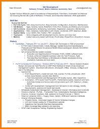 Application Tester Sample Resume Sample Cover Letters For Resume