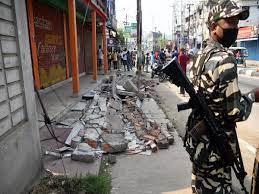 Earthquake today