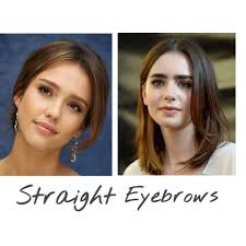 korean makeup trend 2016 3 straight eyebrows