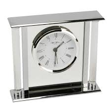 silver contemporary mantel clocks  decorative contemporary mantel