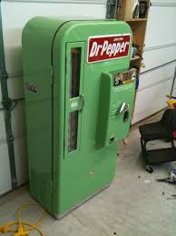 Dr Pepper Vending Machine For Sale Custom Fiero Jon's Vintage Soda Machines