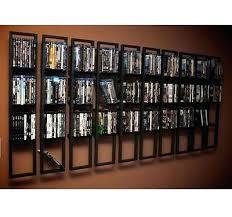dvd rack wall mount wall mounted shelves 2 black rack shelf within storage inspirations dvd cabinet dvd rack wall mount